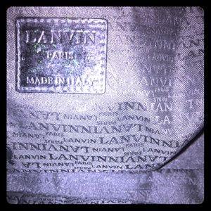 Handbags - 💯% Authentic Lanvin Black Bag  *ADDITIONAL PICS*